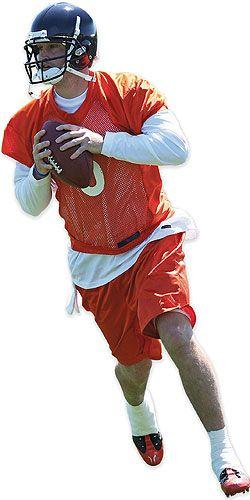 Bears Quarterback Jay Cutler - Athlete managing type 1 diabetes