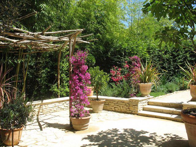 Jardin m diterran en recherche google muret bordure terrasse pinterest bordure terrasse - Terrasse jardin pinterest strasbourg ...