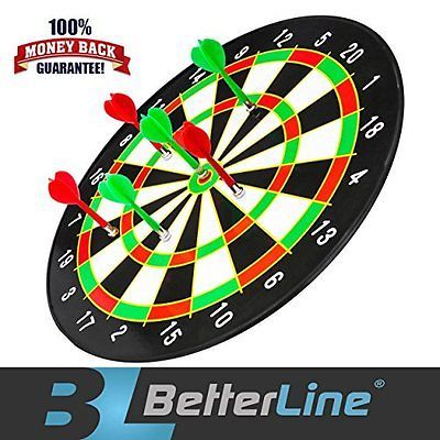 Better Darts & Equipment Line Magnetic Set With 16 Inch Dartboard And