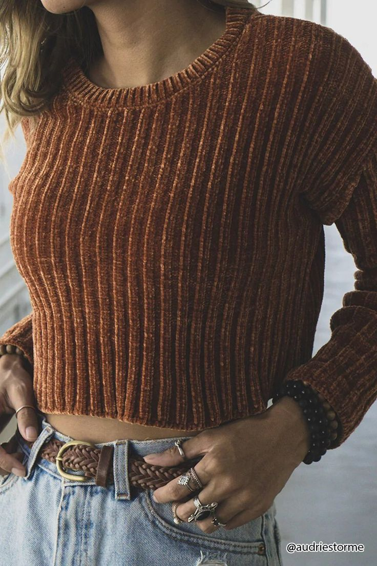 Ribbed Sweater-Knit Crop Top | Forever21