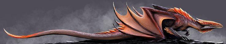 dragon concept by TatianaMakeeva.deviantart.com on @DeviantArt