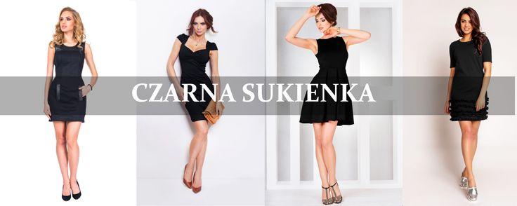Nie zapominamy o ukochanej czerni również latem. Kto powiedział, że czarna sukienka nadaje się wyłącznie na oficjalne okazje? Spróbujcie założyć do niej espadryle, kolorowe tenisówki, gladiatorki, botki za kostkę a zobaczycie ile pojawi się możliwości dodatkowych stylizacji. Czarna sukienka ma wiele twarzy. http://www.grandesaldi.pl/sukienka-z-tloczonego-materialu http://www.grandesaldi.pl/rozkloszowana-sukienka-z-kontrafaldami http://www.grandesaldi.pl/sukienka-z-ciekawym-dekoltem