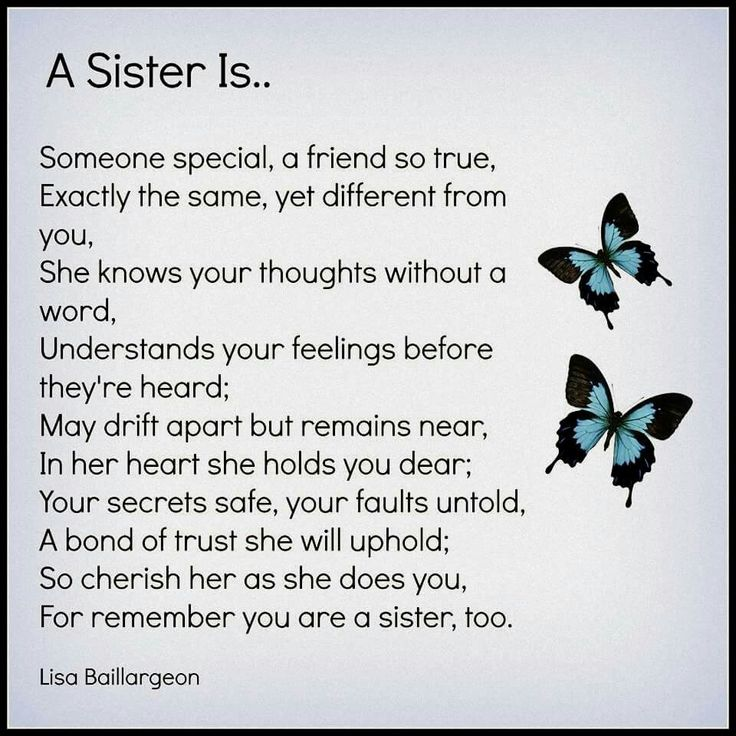 Sisters ~