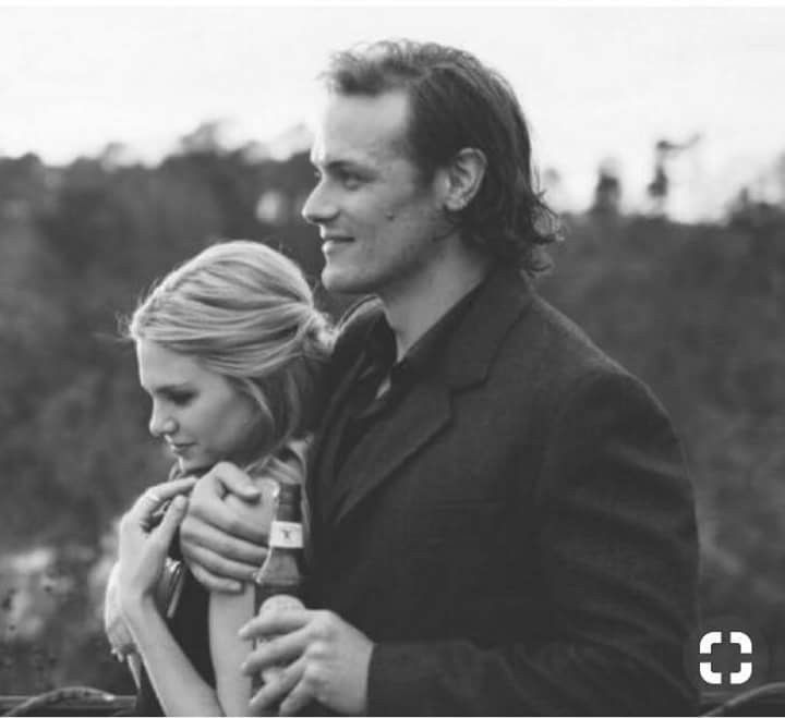 Sam Heughan And Mackenzie Mauzy At Her Sister S Wedding With