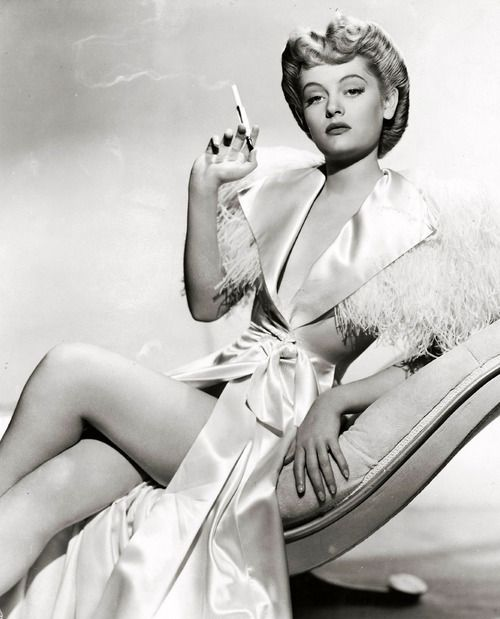 Alexis Smith, famous movie star from the 1940's born in British Columbia. #Hollywood