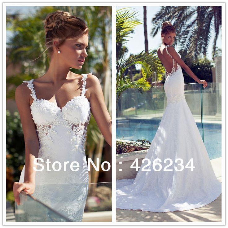 Nice Modern Wedding Dresses by Mon Cheri