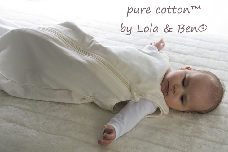pure Cotton by Lola & Ben - Organic Cotton Baby Sleeping Bag with pure cotton liners  The World's Most Functional & Complete Baby Sleeping Bag for Your Baby...   The Lola & Ben ® Baby Sleeping Bag is so versatile....for hot Summer day or night time sleeps simply use the GOTS 100% Organic Cotton Baby Sleeping Bag then add the 'Light' Organic Cotton Liner or the 'Seasons' Merino Liner for cooler summer nights.