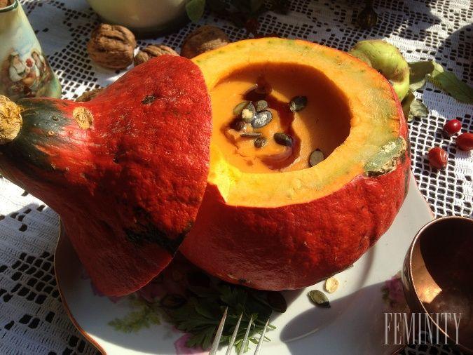 Krémová tekvicová polievka je na jeseň ako stvorená
