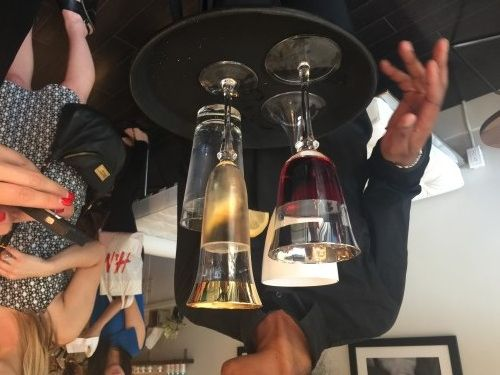 Wine offered at Body Blitz Facial Bar opening http://www.torontonicity.com/2015/06/22/body-blitz-goes-facial-another-way-to-bliss/