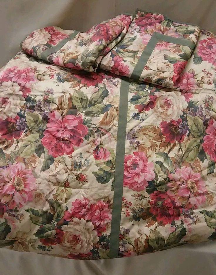Ralph Lauren Chaps 3 Pc Rosemont Floral Houndstooth King