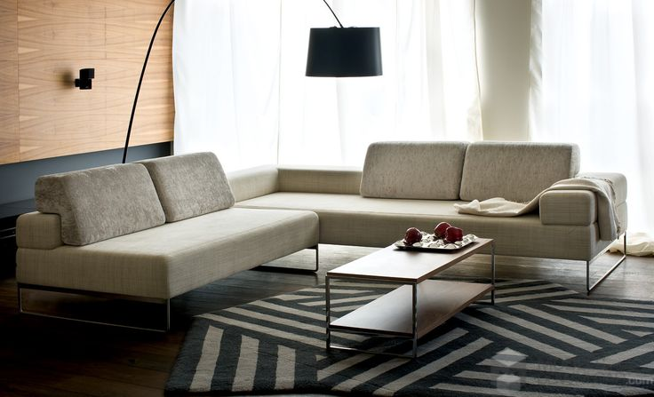 Modern and cozy living room