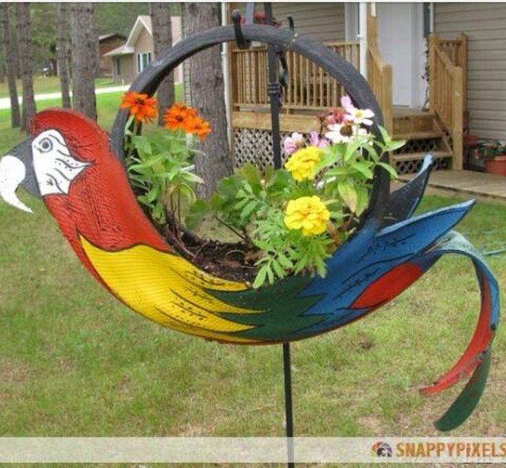 Parrot tire