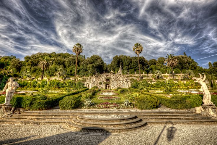 The Garzoni Gardens are definitely a must-see in Collodi, Tuscany!