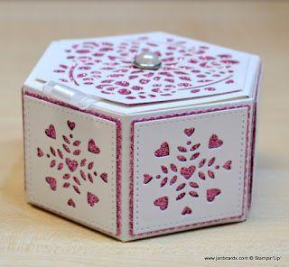 JanB Handmade Cards Atelier: Window Box Video