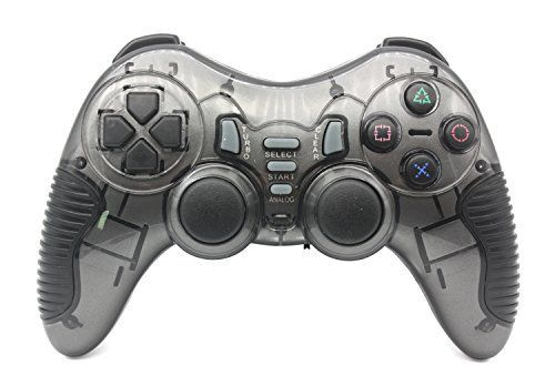 C-Zone #6 in #1 #Blutooth gamepad/game #controller for PC/PS1/PS2/PS3/PC360/Android TV/TV Box/PC/Tablet-Blue Professional design,delicate outlook,confortable feeling RF 2.4G wireless technology range max 20 meters 12 fire buttons,8 directional buttons,2 3D JOYSTICKS https://automotive.boutiquecloset.com/product/c-zone-6-in-1-blutooth-gamepad-game-controller-for-pc-ps1-ps2-ps3-pc360-android-tv-tv-box-pc-tablet-blue/