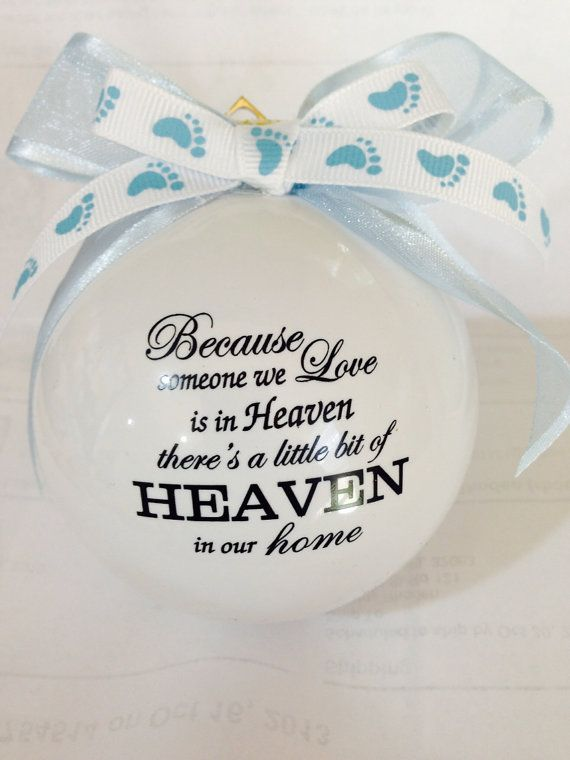 Because someone we love is in heaven..... Infant by LuluDesignsTX, $11.95
