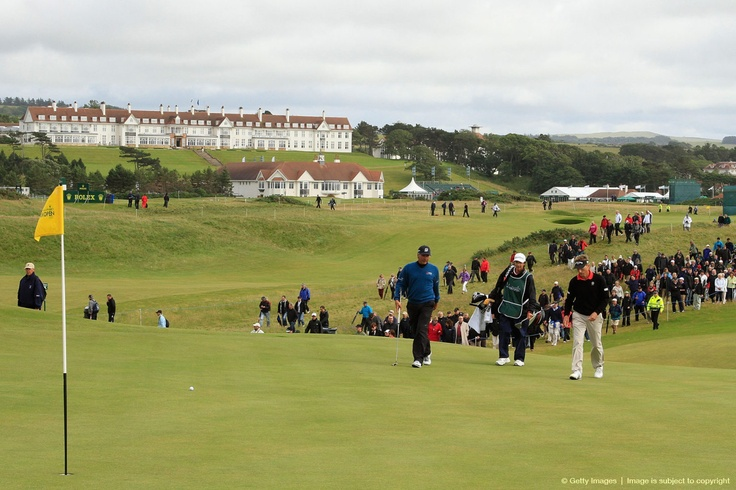 TURNBERRY, SCOTLAND - JULY 29:  Fred Couples of the United States in action during the final round of the Senior Open Championship.: Fred Couple, Open Championship, July 29, Senior Open, Finals Round, U.S. States, United States