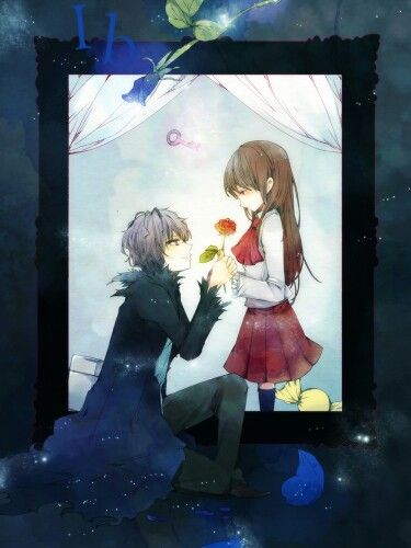 Ib and Garry, maybe when he got her her rose back
