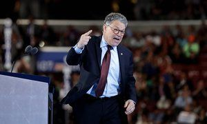 Senator Al Franken accuses Donald Trump of launching antisemitic TV ad Democratic Minnesota senator says advertisement featuring lurid shots of Federal Reserve, Wall Street and prominent Jewish people is a 'dog whistle'