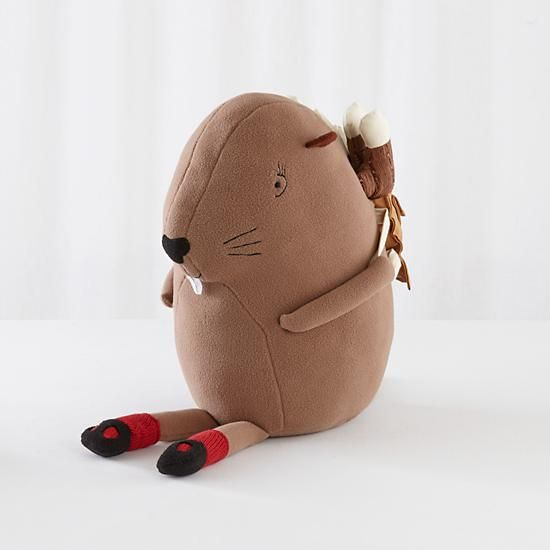 Not-So-Busy Beaver Plush toy | The Land of Nod