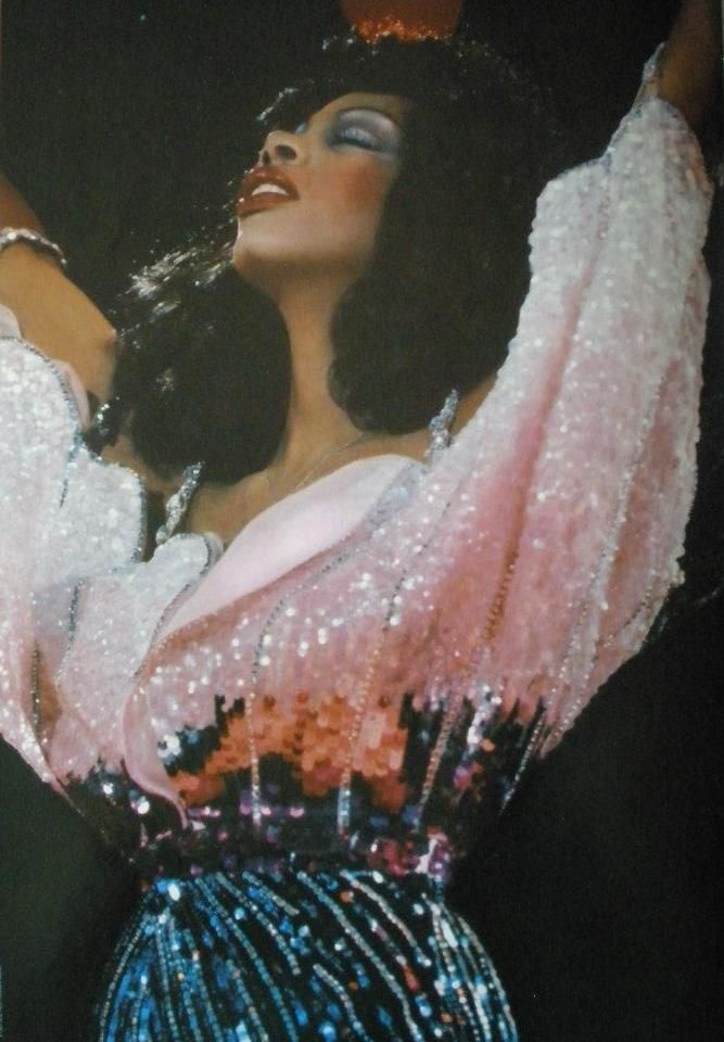 Donna Summer. So many memories of disco dancing to her music.  Amazing voice.
