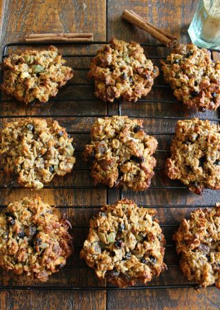 Healthy Granola Biscuits - with crunch!
