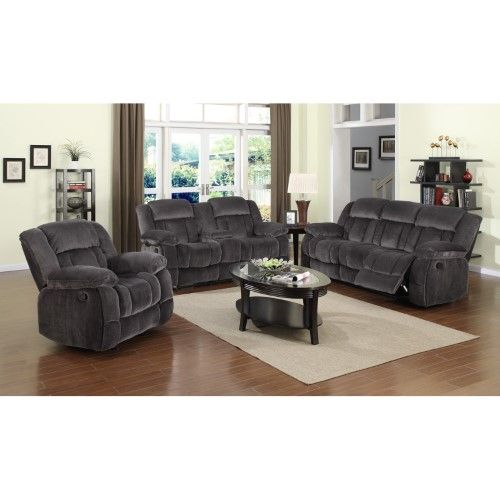Best Sunset Trading Madison 3 Piece Reclining Living Room Set 400 x 300