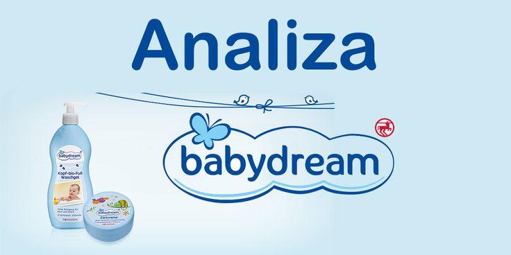 Babydream, żel do kąpieli, dla dzieci   Babydream żel do mycia niemowląt. Od stóp do głowy delikatnie myje skórę i włosy. Zawiera pante...