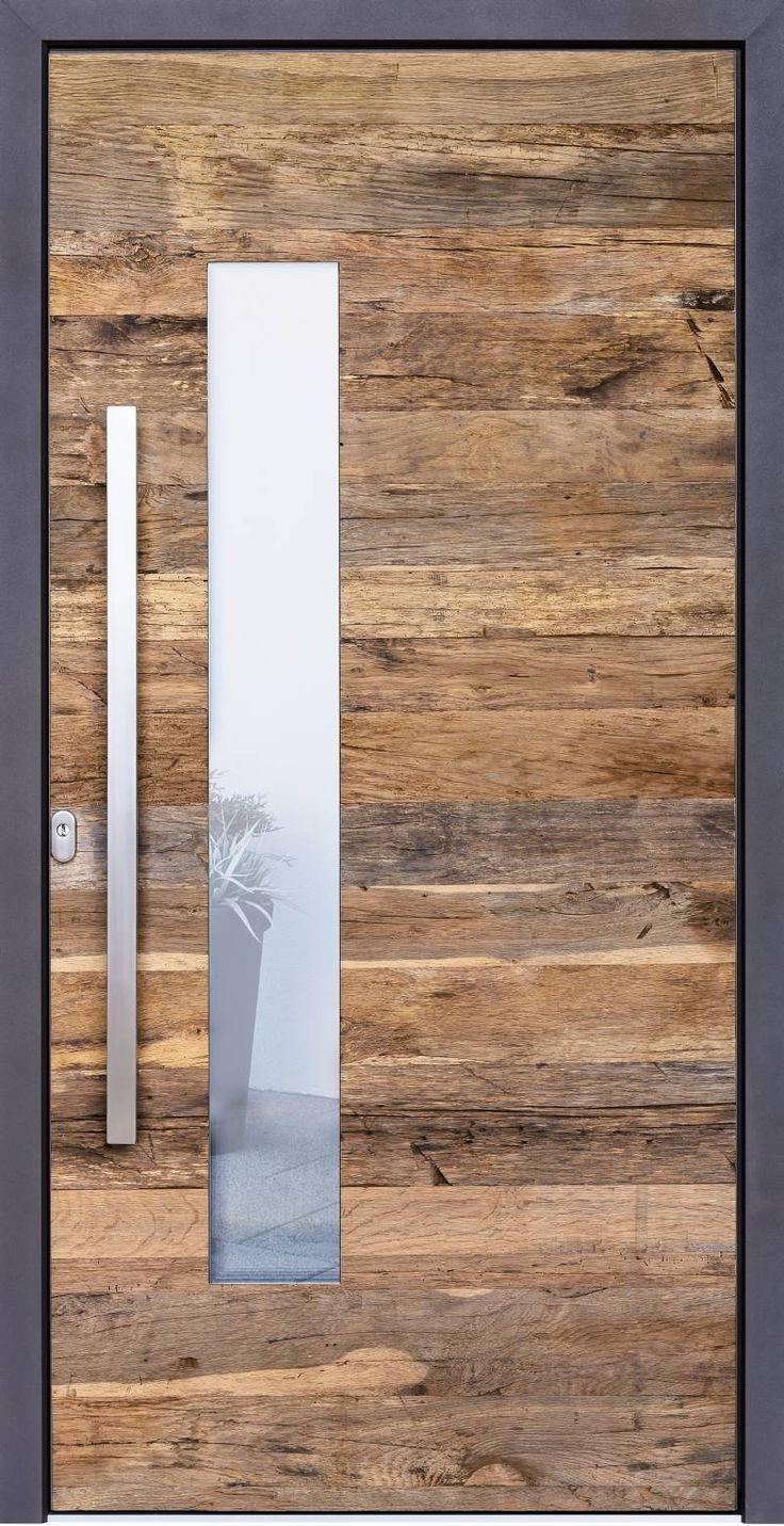 Tür einflügelig mit Glaseinsatz versetzt   – nefise kusak