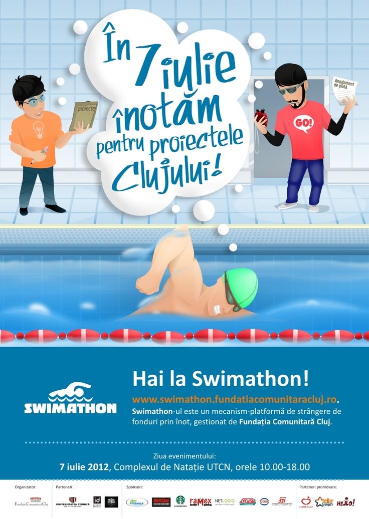 Încep înscrierile la Swimathon Cluj 2012!