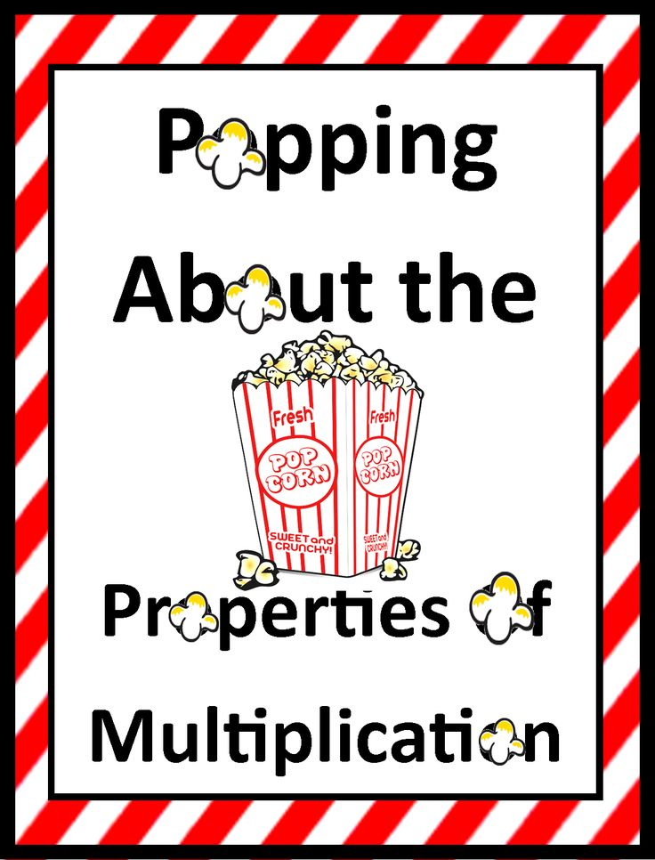 Tricks of the Teaching Trade: Popping about the Properties of Multiplication