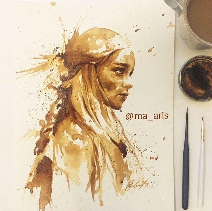 pinturas hechas con cafe-7