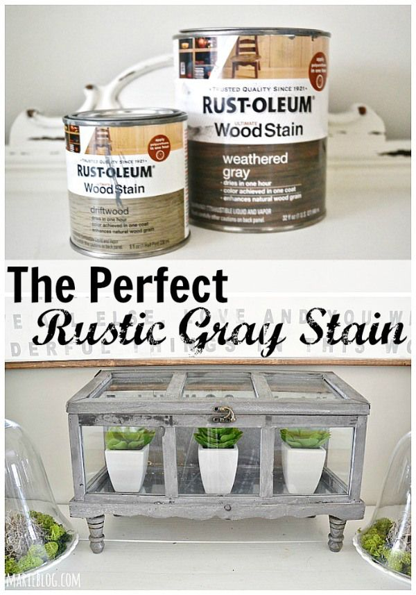 DIY Terrarium, The Best Gray Stain, U0026 Faux Greenery | Driftwood, Weather  And Gray