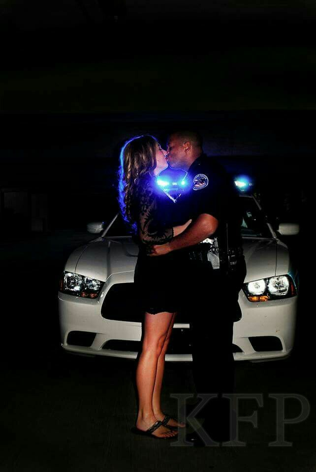 Police engagement photo