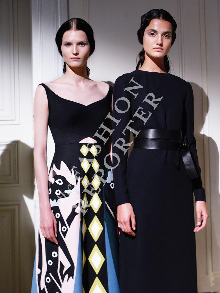 Valentino Backstage | Haute Couture Fw14-15 | Ph. Antonello Trio