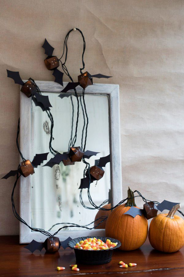 Bat Lights DIY | Oh Happy Day!