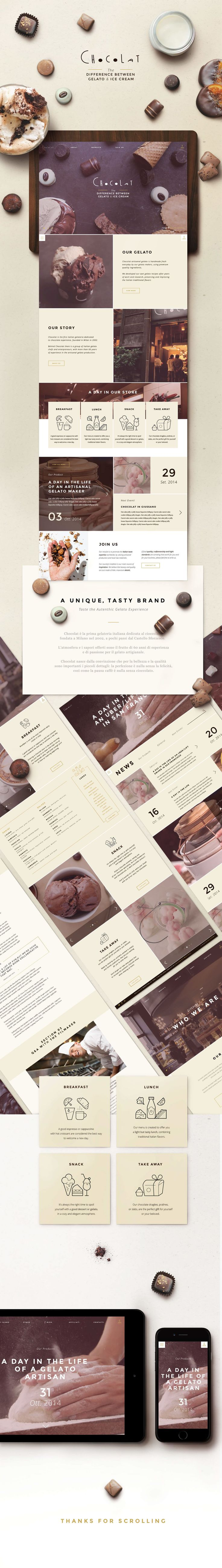 Chocolat by @nois3 on Behance