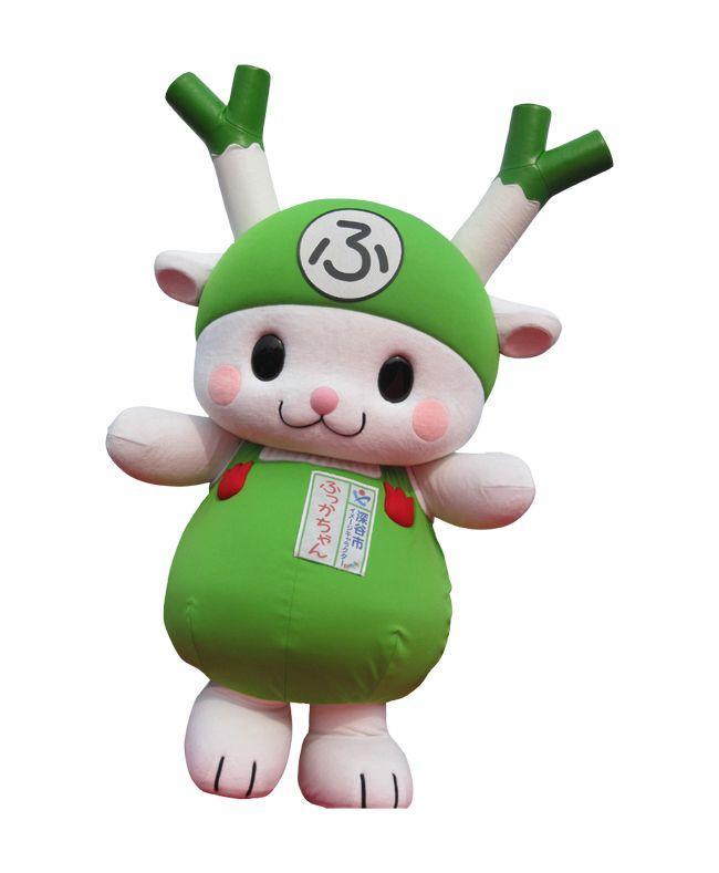"""""""Fukkachan"""" local mascot of japan"""