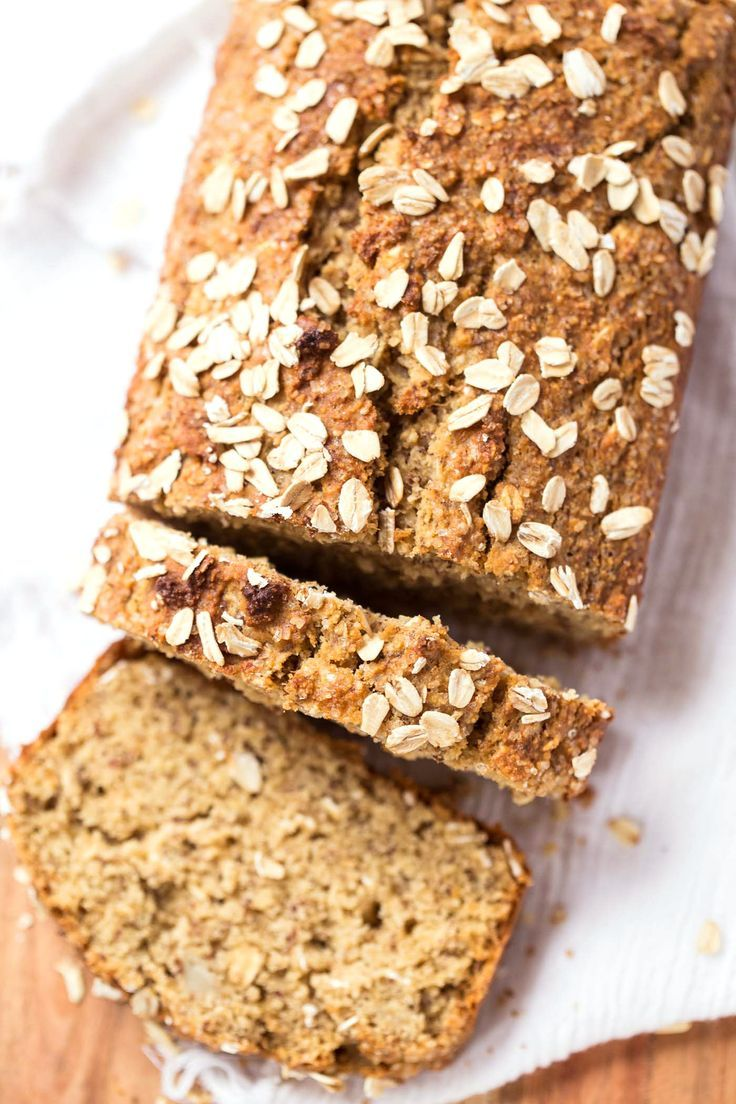 This Honey Oatmeal Banana Bread is packed with nutrient-dense flours, sweetened naturally and uses just one tablespoon of oil. It's healthy and nutritious!