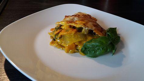 Vegetarische Kürbis-Mangold-Lasagne, ein sehr leckeres Rezept aus der Kategorie Gemüse. Bewertungen: 148. Durchschnitt: Ø 4,5.