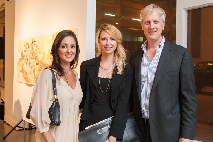 Monica Fitzsimmons, Celeste Niebergall, and Milan Lazich