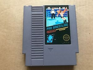a pro wrestling classic original nintendo game system nes hq