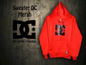 Sweater DC Merah  harga eceran : Rp. 140.000 (1 -2 pcs) harga grosir Rp 120.000 (3 pcs atau lebih) belum termasuk ongkir Sweater DC Merah by Grosir Denim:  Bahan Fleese  sweter Ukuran All Size (Setara M  L) Panjang 66cm, Lebar 55cm, Panjang Lengan 57cm Sweater DC Merah  Pemesanan via SMS Anda dapat melakukan pemesanan melalui SMS dengan format sebagai berikut:  Nama | Alamat Lengkap | Produk Yang Dipesan | Jumlah Pesanan  kirim ke 085701111960