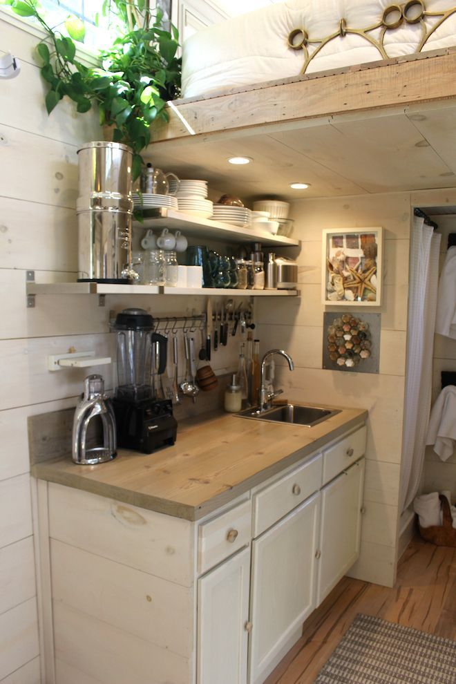 Impressive Tiny House Built For Under $30K Fits Family Of 3 - (curbed)