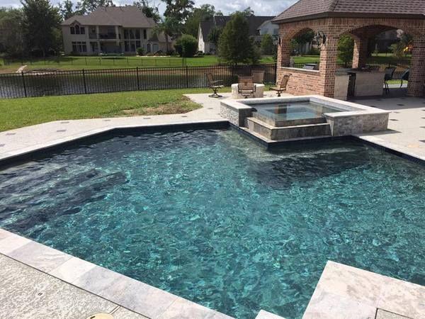Houston Concrete Pool Deck Resurfacing Gallery Concrete Pool