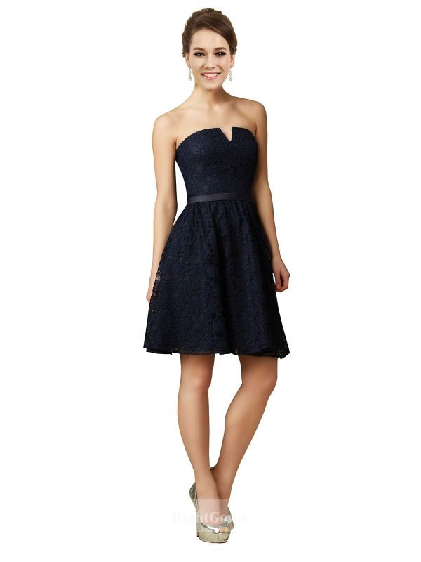 Cheap Right Gowns 2018 Huge Discount V-Neck Short Knee Length Chiffon Strapless Bridesmaid Dresses 172019, Right Bridesmaid Dresses, Cheap Bridesmaid Dresses and Buy Discount Bridesmaid Dresses2018
