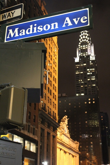 NYC's Madison Avenue, the communications capitol of the world