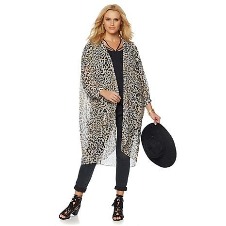 Wendy Williams Printed Lightweight Topper