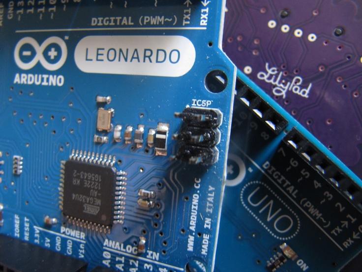 Uno, Leo y Lily ... Arduino family