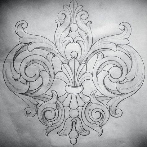 Acanthus motif                                                                                                                                                      More